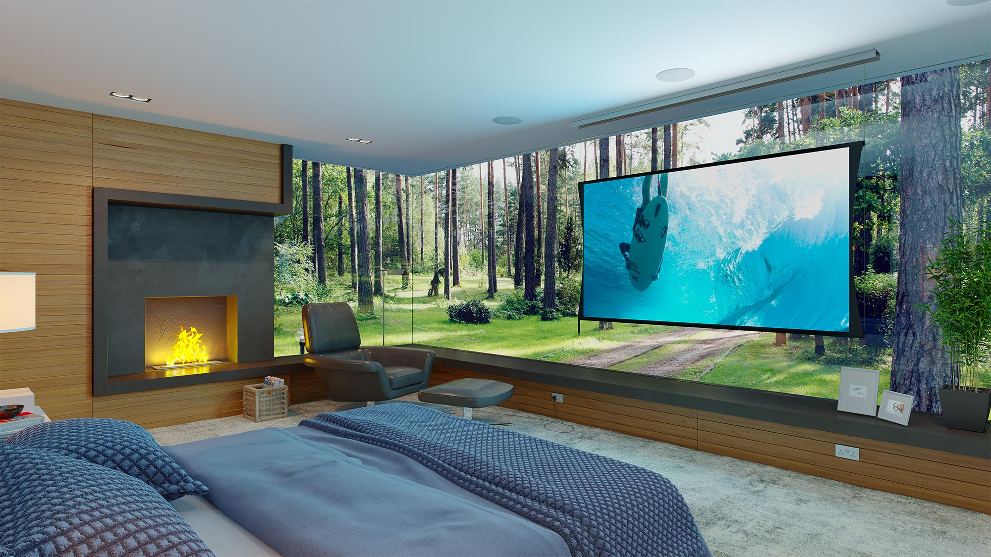 Awesome Projector Setup
